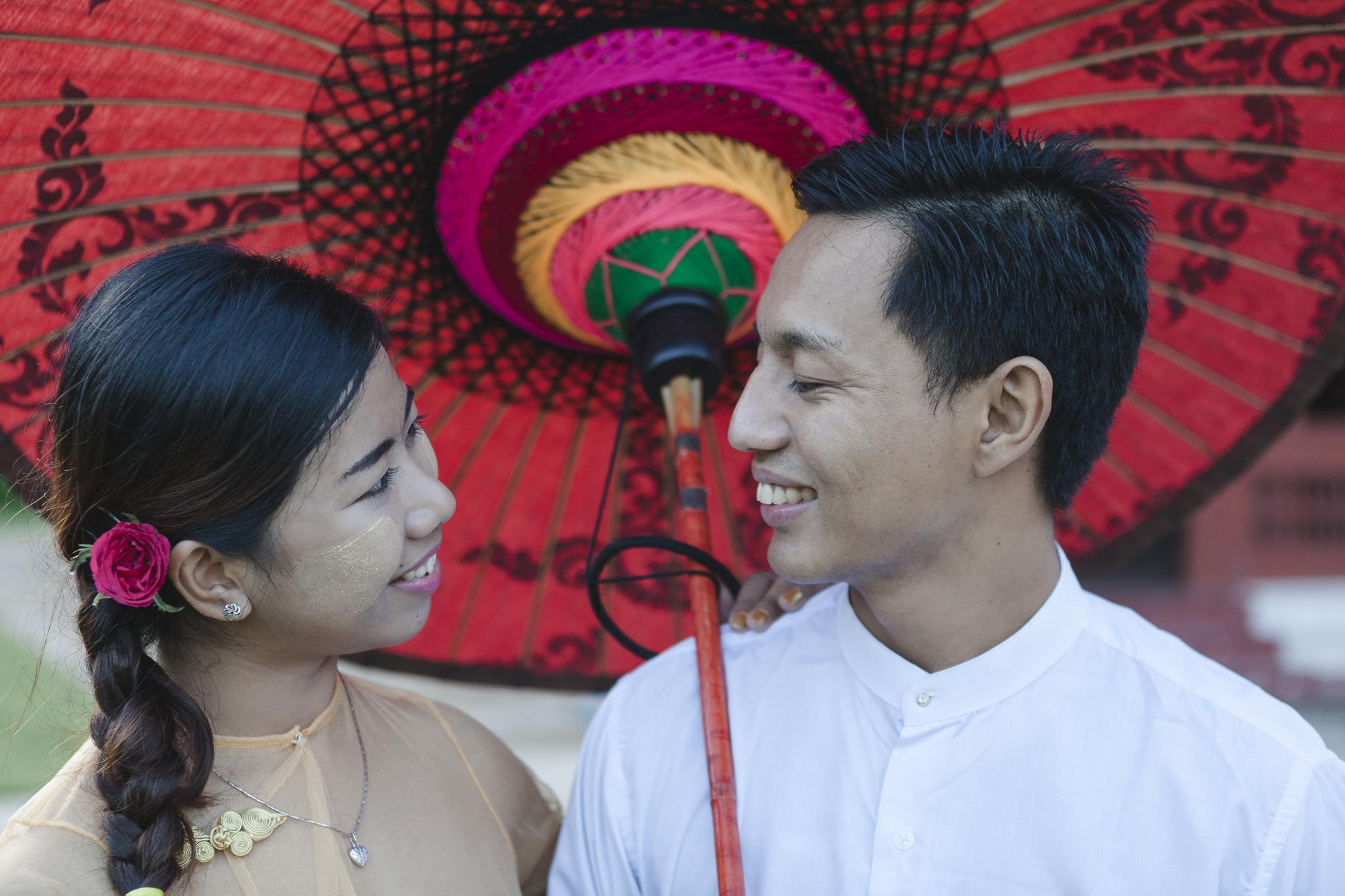 Paarfotos in Mandalay