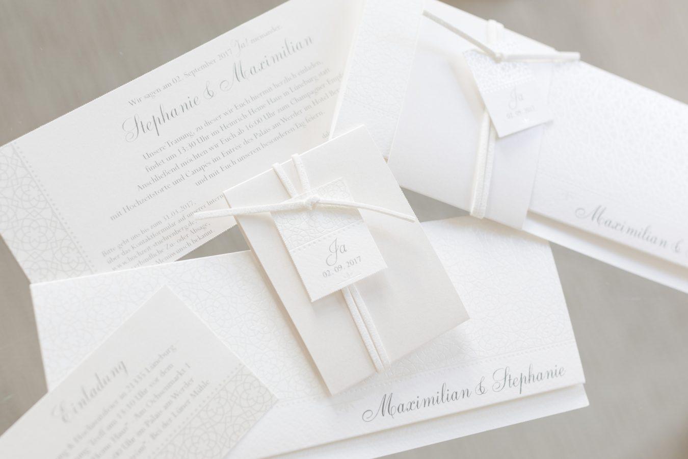 Hochzeitsfotograf Hamburg - Einladungen und Papeterie