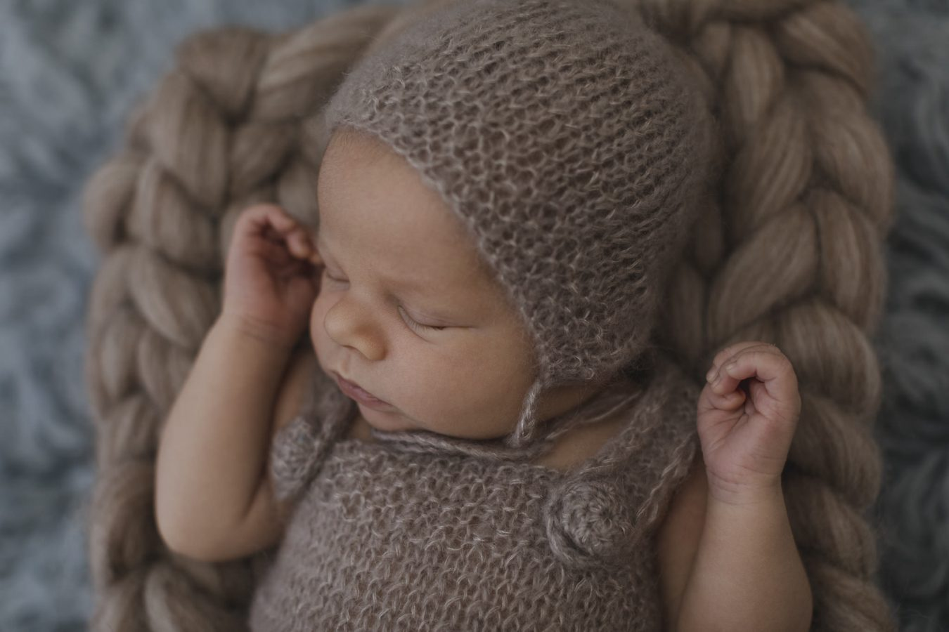 Babyfotograf Hamburg - Baby schläft
