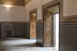 der alte Sultanspalast in Marrakech