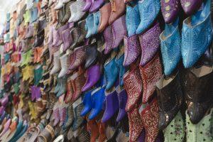 typische marokkanische Schuhe
