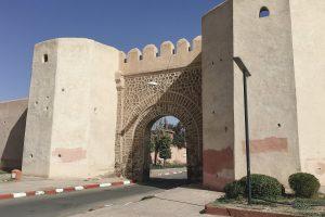 Tor zum Eingang in die Altstadt von Marrakech