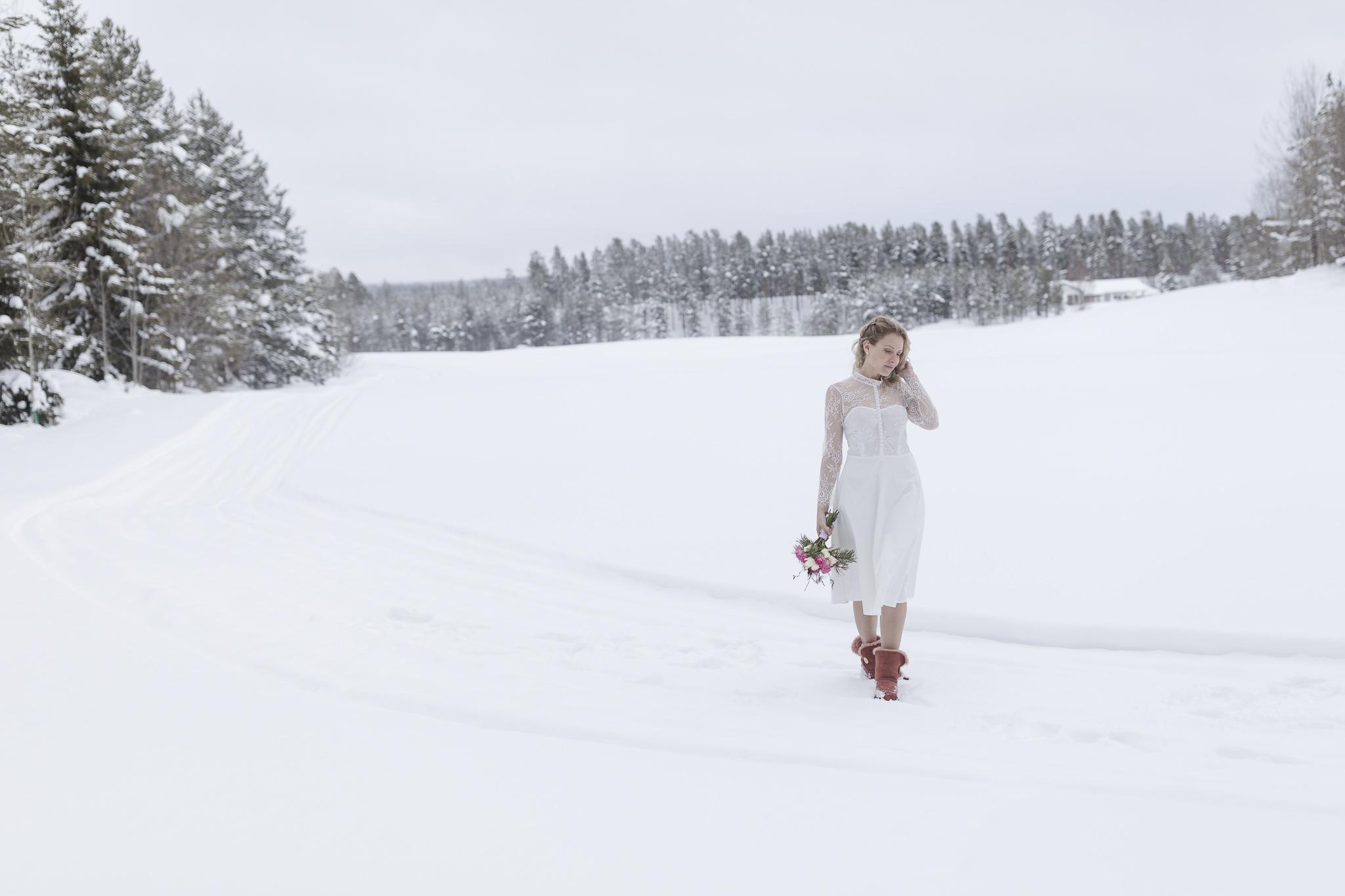 Winterhochzeit in Lappland