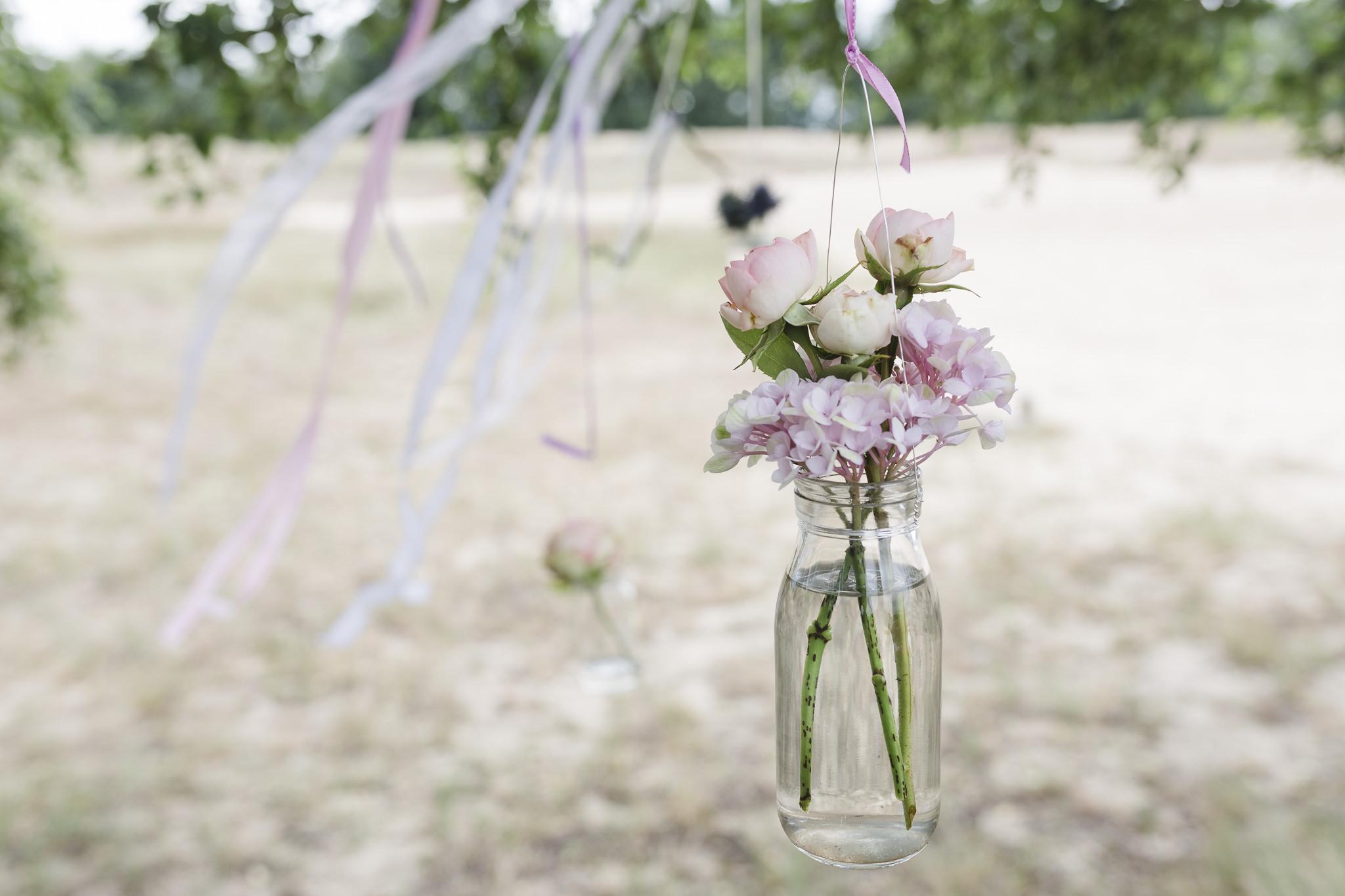 Hochzeitsinspirationen: Hängende Blumendeko