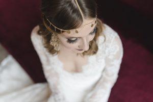 die fertig gestylte Braut