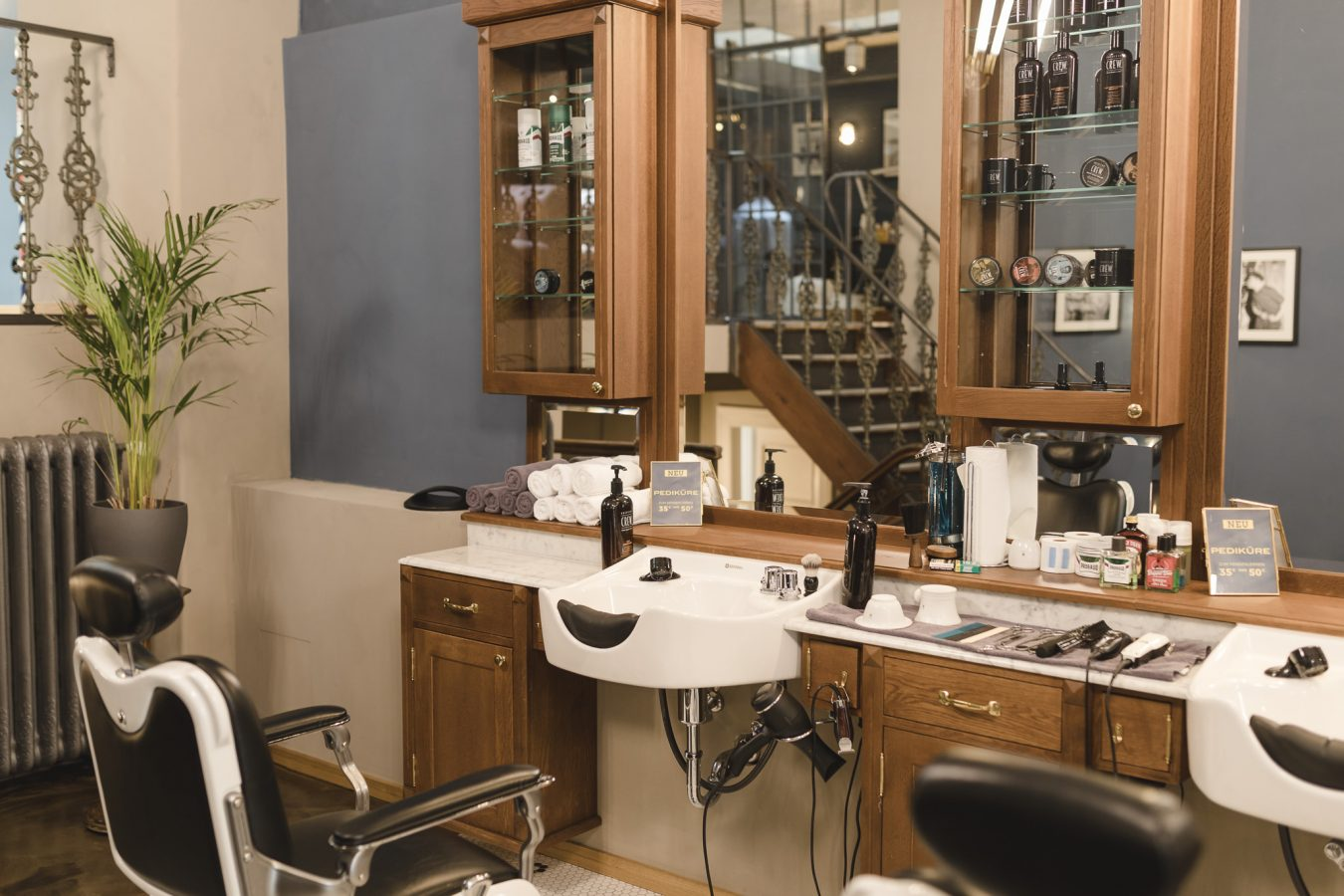 Barbier Salon in Hamburg - das Barber House