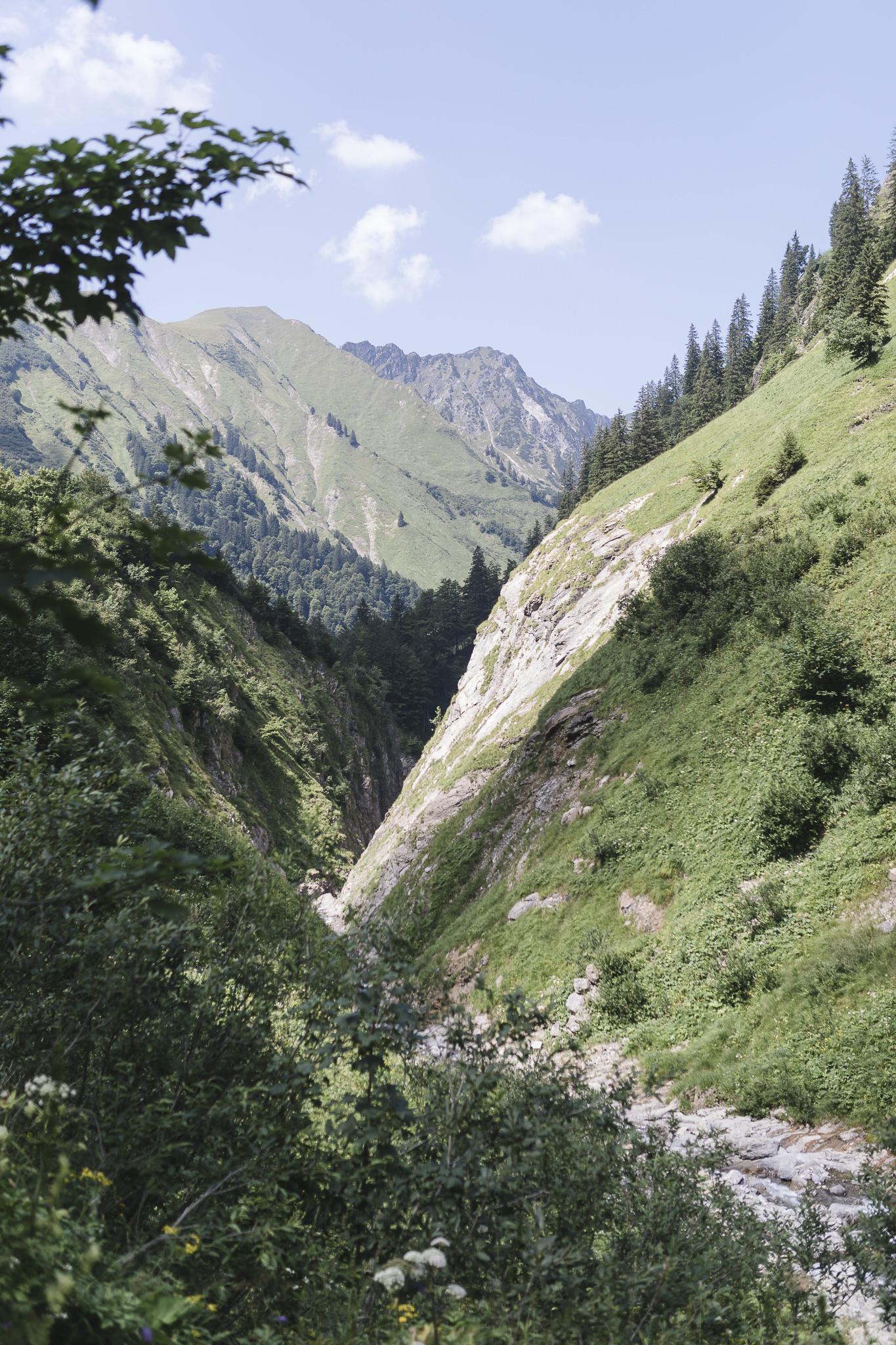 Alpenüberquerung - los geht's in Spielmannsau