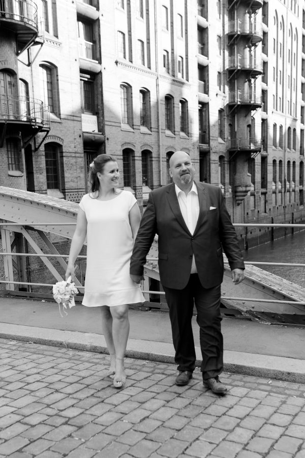 Hochzeitsfotograf Hamburg - kleiner Spaziergang durch die Speicherstadt