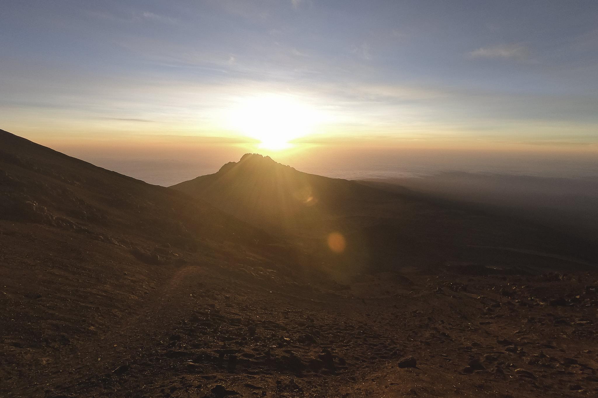 Kilimanjaro Sonnenaufgang